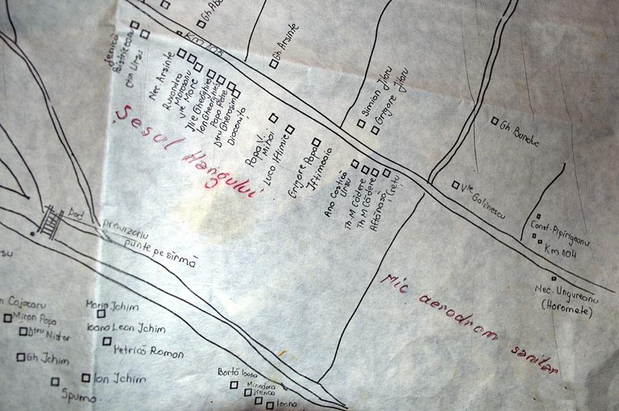 Harta situare pista aerodrom