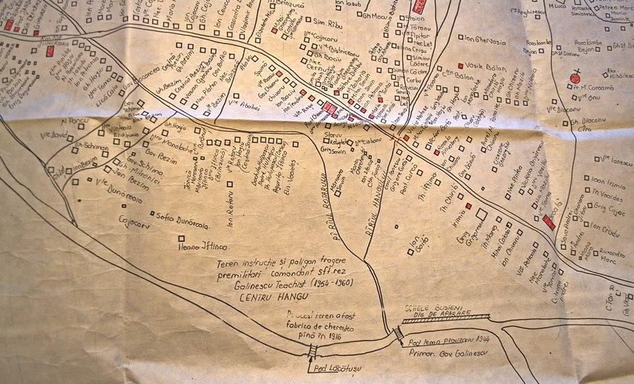 Harta situare poligon tragere